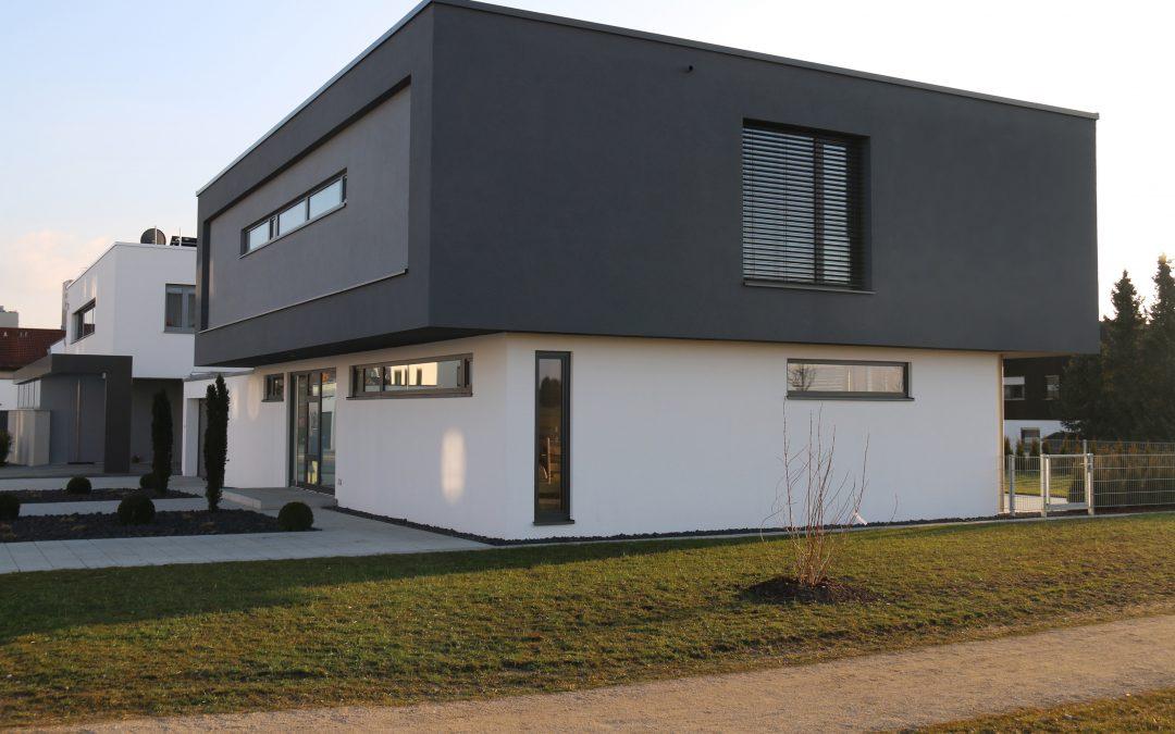 Einfamilienhaus – Zwei Kuben