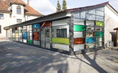 Modernisierung der Grundschule Albeck – Farbspiel fertiggestellt